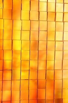 Resumen mosaico de vitrales de oro
