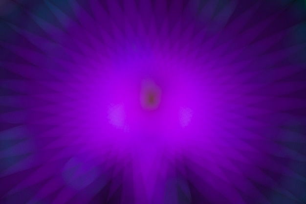 Resumen movimiento borroso violeta luces de neón de una rueda de maravilla