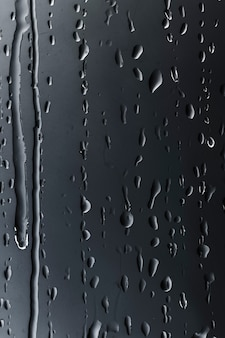 Resumen de patrón de gotas de lluvia