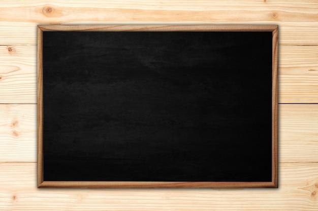 Resumen pizarra o pizarra con marco de madera