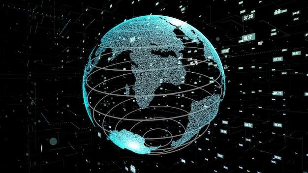 Resumen de tecnología de ciencia de datos globales y programación informática