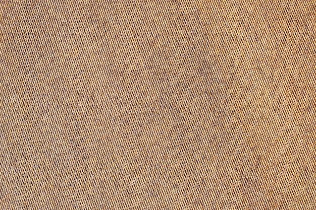 Resumen textura de fondo marrón. superficie del lienzo de tela de saco áspero