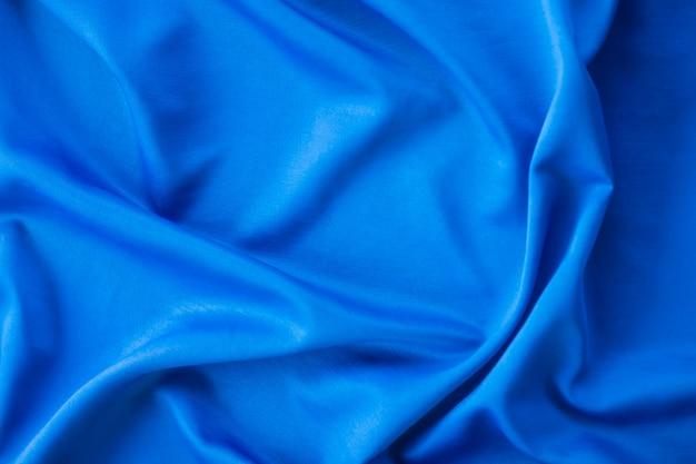 Resumen textura de la tela azul.