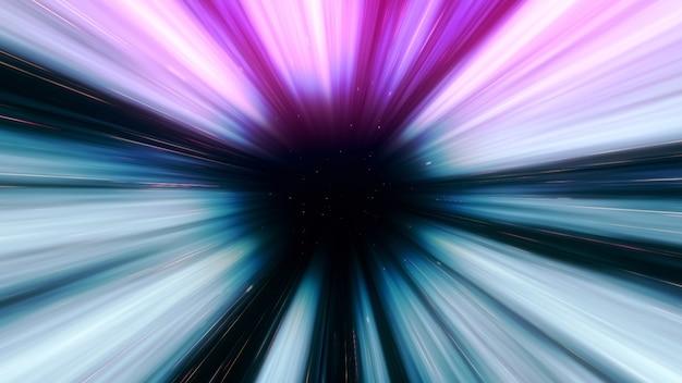 Resumen túnel espacio-tiempo continuo