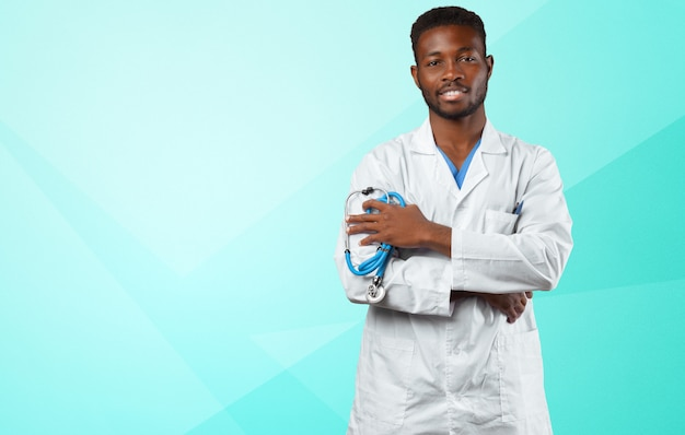 Retrato africano del doctor