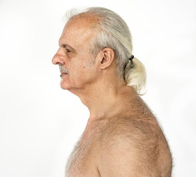 Retrato de un anciano británico