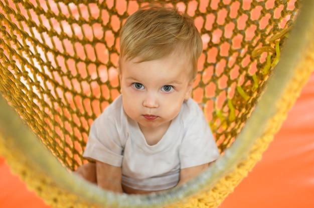 Retrato de bebé encantador