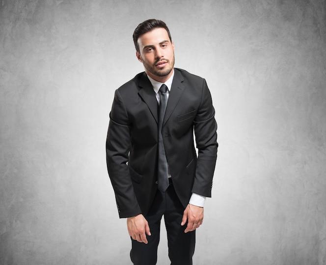 Retrato de un hombre de negocios cansado