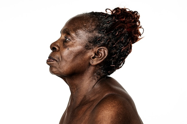 Retrato de una mujer congoleña