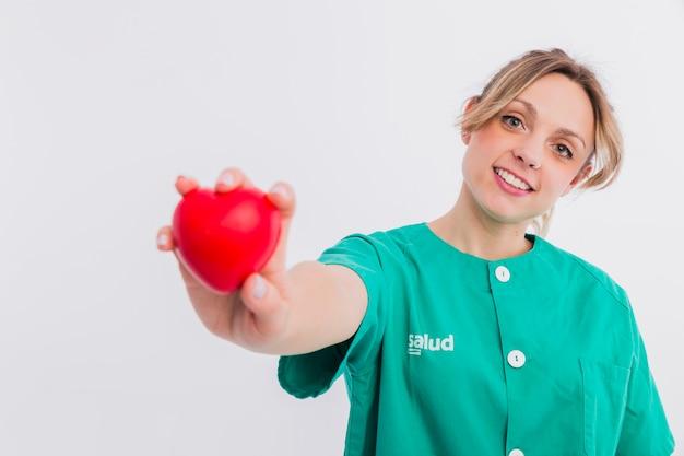 Retrato de enfermera