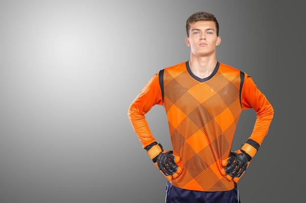 Retrato de futbolista profesional