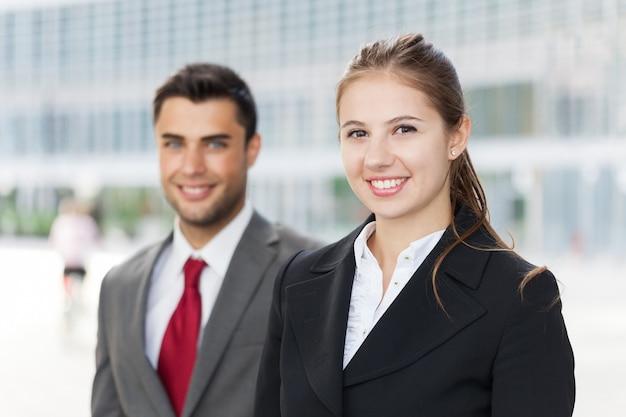 Retrato de gente de negocios