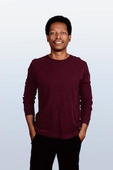 Retrato de hombre afroamericano
