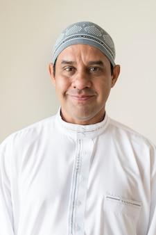 Retrato de un hombre musulmán