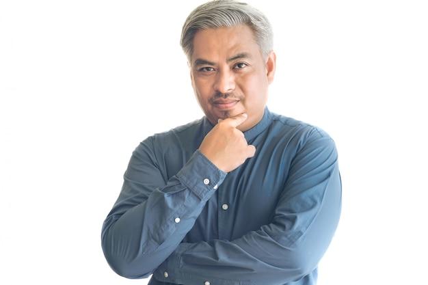 Retrato de hombre de negocios asiáticos