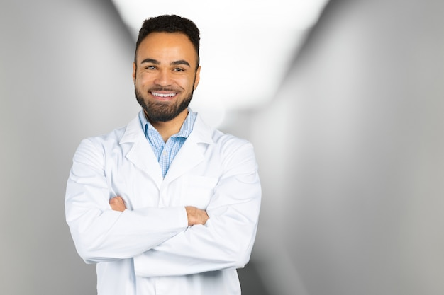 Retrato médico africano