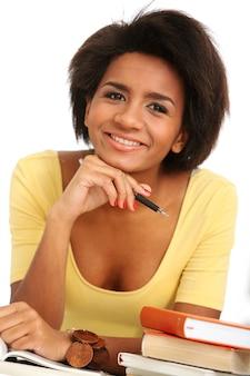 Retrato de mujer brasileña