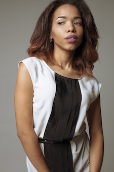 Retrato de mujer negra