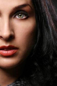 Retrato de mujeres hermosas