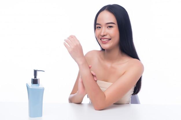 Retrato niña, mujer asiática