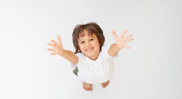 Retrato de niño modelo