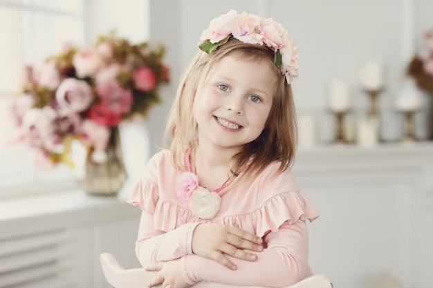 Retrato de niños felices