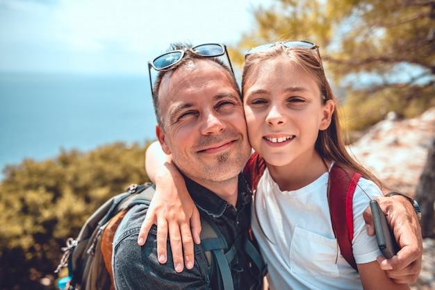 Retrato de padre e hija
