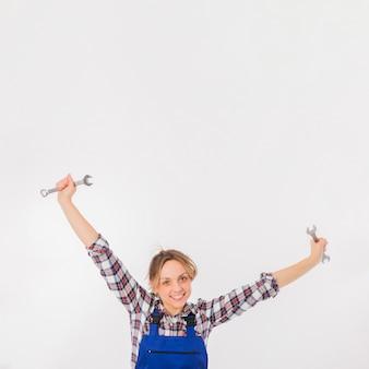 Retrato de trabajadora