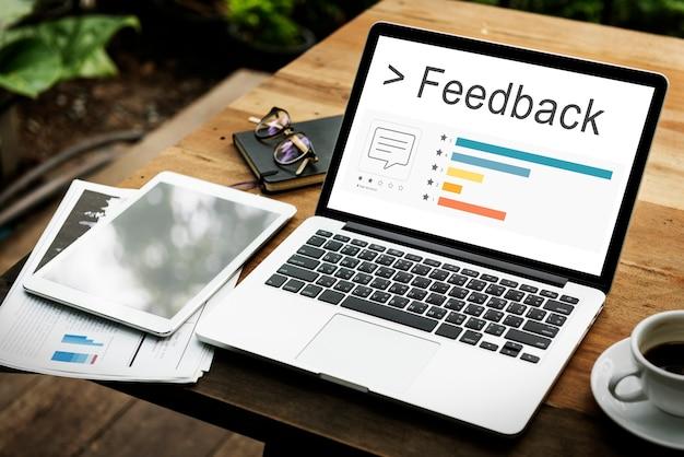 Retroalimentación comentario encuesta soporte respuesta barra palabra