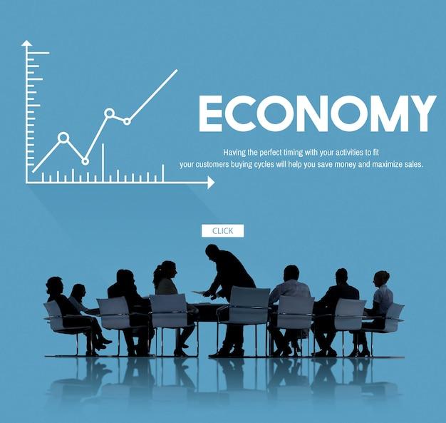 Reunión de negocios financieros