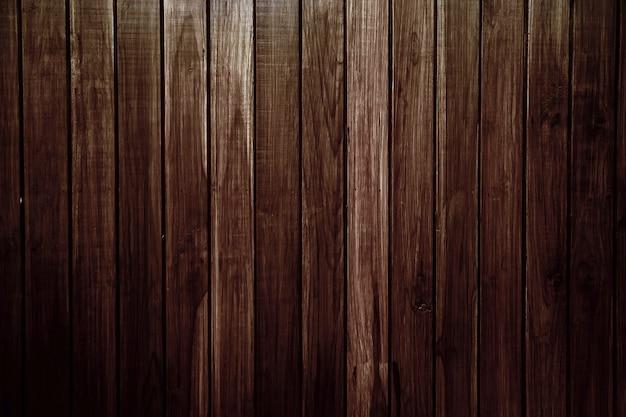Revestimiento de pared de listón de madera marrón vintage antiguo para imágenes de fondo y textura.