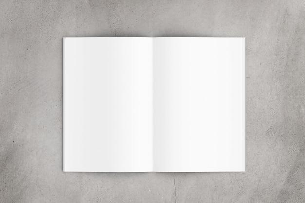 Revista abierta - renderizado 3d