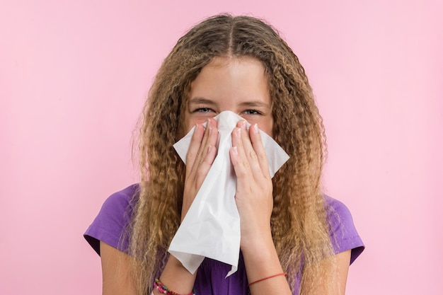 Rinitis alérgica en vacaciones de verano