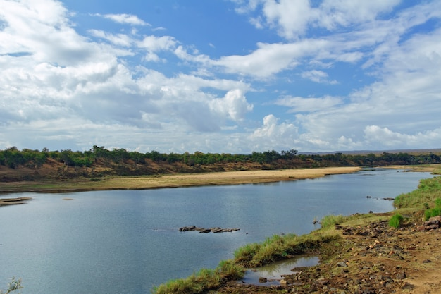 Río en parque nacional