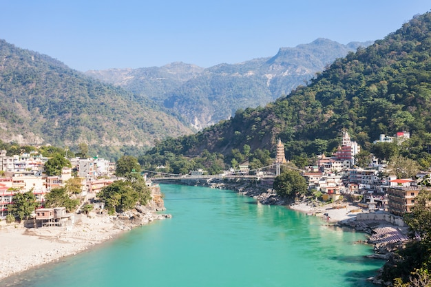 Rishikesh en la india