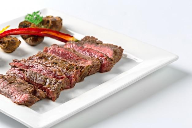 Roastbeef en plato