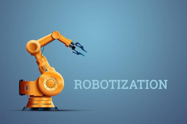 Robot manipulador industrial