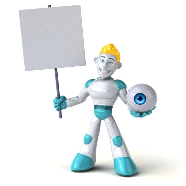 Robot - personaje 3d