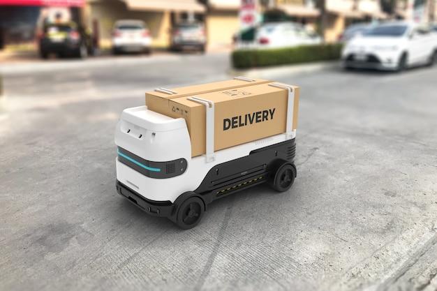 Robot de reparto autónomo