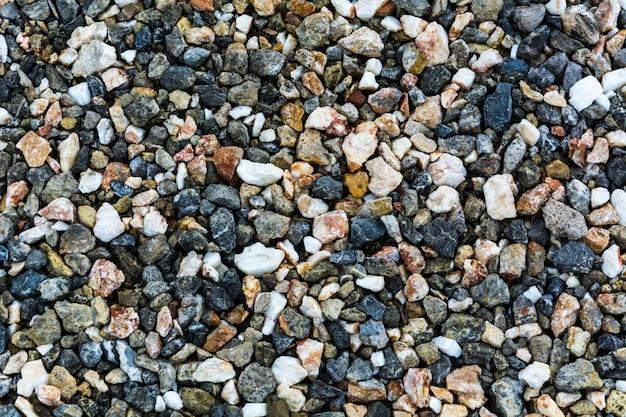 Roca triturada como fondo