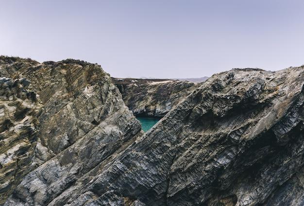 Rocas de porto covo, alentejo, portugal