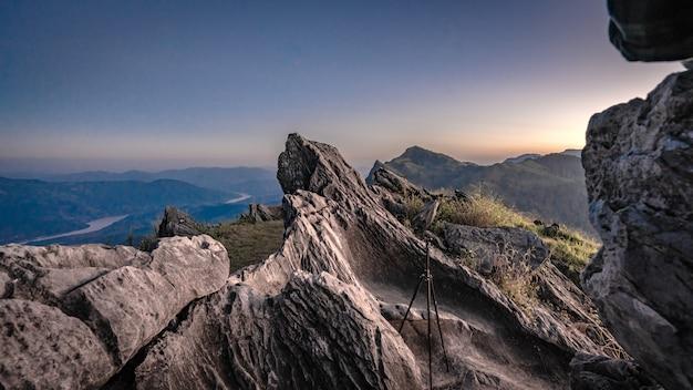Rock mountain view