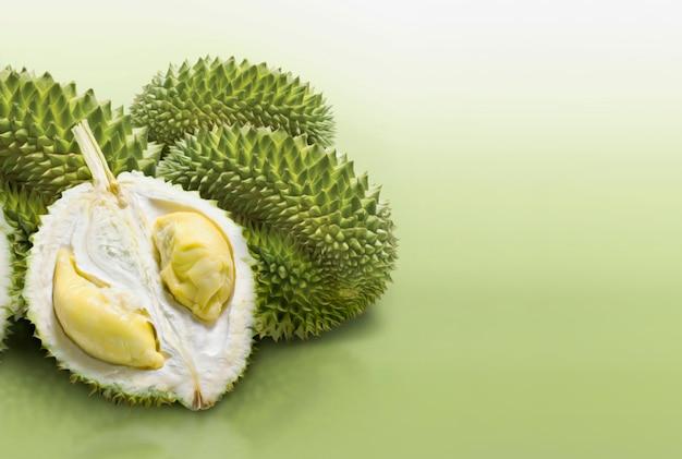 Rodaja de fruta durian