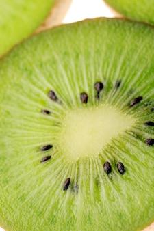 Rodajas de kiwi de cerca