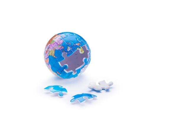 Rompecabezas de globo