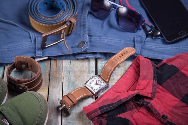Ropa y accesorios para hombres.