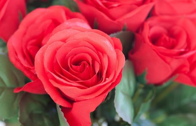 Rosas rojas como regalo de san valentín