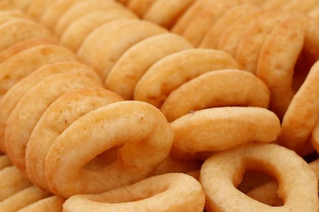 Rosquillas en comida callejera