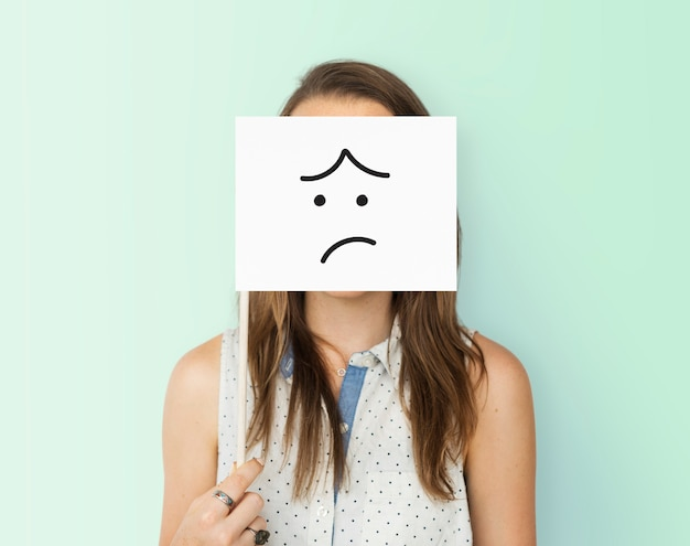 Rostro expresiones ilustraciones emociones sentimientos