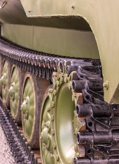 Ruedas para soportar el transporte de personal blindado btr-md